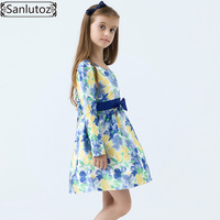 Girls Dress Winter Girls Clothing Party Flower Children Dress Brand Kids Clothes Princess Holiday Spring Wedding