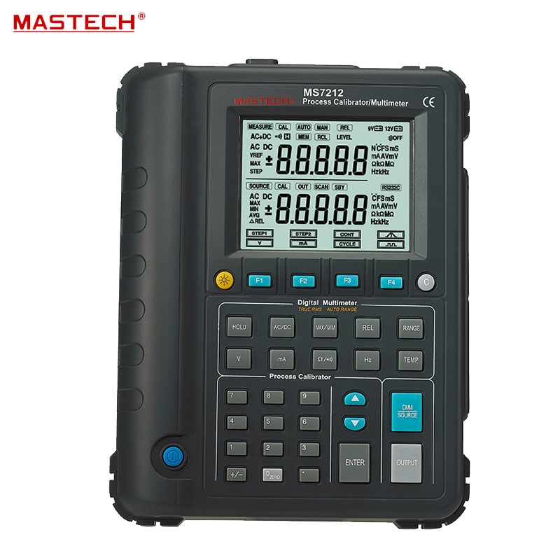 Multifunction Calibration Instrument Digital Precision Process Calibration Source RS-232C Infrared Interface MASTECH MS7212