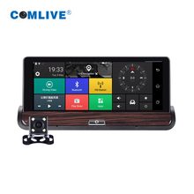 Remote monitor 3G Android 5.0 car dvr 7″ dual cams HD1080P console car camera GPS Navi bluetooth wifi car video recorder
