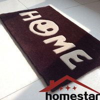 50x80 Quality Hand Cut Carpet HOME Carpet Doorway Mat Floor Rug Brown Color Rug Thick Carpet