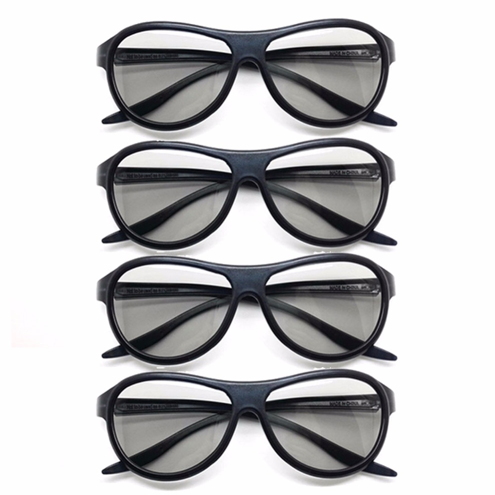 4pcs/lot Replacement AG-F310 <font><b>3D</b></font> Glasses Polarized Passive Glasses For <font><b>LG</b></font> TCL Samsung SONY Konka reald <font><b>3D</b></font> Cinema <font><b>TV</b></font> computer image