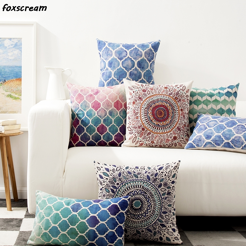 decorative pillows for living room vintage bohemian decorative throw pillows geometric living 18479