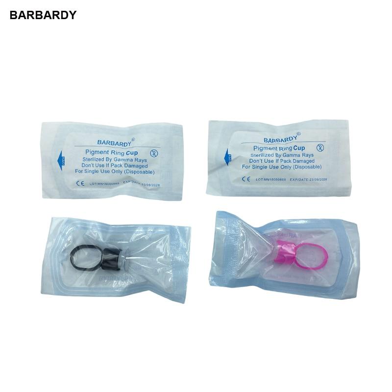 50st Tattoo Supply Ring Cups Gereedschap Microblading Pigment Houder - Tatoeage en lichaamskunst - Foto 1