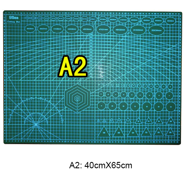 1 Pc/Lot Durable Double-Sided A2 60cmX45cm Cutting Pad & Cutting Mat for DIY Tool & Office Supply & Stationery 1 Pc/Lot Durable Double-Sided A2 60cmX45cm Cutting Pad & Cutting Mat for DIY Tool & Office Supply & Stationery