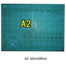 1 Pc/Lot Durable Double-Sided A2 60cmX45cm Cutting Pad & Cutting Mat for DIY Tool & Office Supply & Stationery