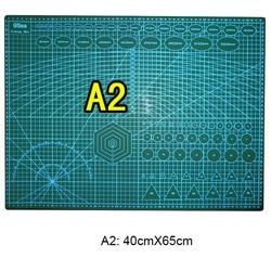 1 pc/lote durável dupla face a2 60cm x 45cm almofada de corte & tapete de corte para diy tool & office supply & artigos de papelaria
