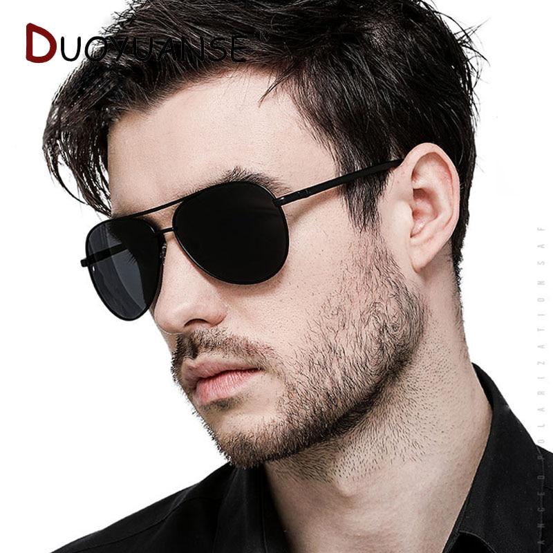 Nya män klassiska polariserade solglasögon aluminium magnesium - Kläder tillbehör - Foto 5