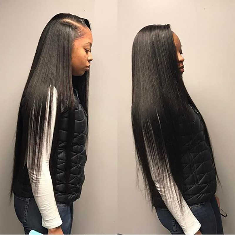 8 30 40 Inch Brazilian Hair Weave Bundles Long Length 1 3 4 Pcs Human Hair Bundles Straight Natural Color Remy Hair Extensions Aliexpress