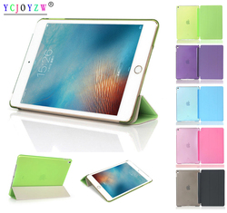 Case For 2017 2018 New ipad 9.7 - 6th For Air 1 Sleep wake-up magnet-YCJOYZW Smart Case Ultra Slim Original 1: 1 Tablet Leather
