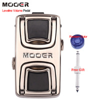 Mooer Leveline Volume pedal Mini Volume Pedal for Guitar Bass Keyboard Metal Shell True Bypass With Free Connector