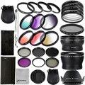 28pcs Lens + Filter Kit 52mm for Nikon D7100 D5300 D5200 D3300 18-55mm LF131