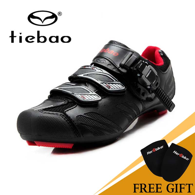 NEW Tiebao Road Cycling Self-Locking Shoes Professional Road Cycling Shoes High Quality Male or Female  TB36-B1407 tiebao professional road shoes rotating screw steel wire with fast cycling shoes road bike shoes tb16 b1259