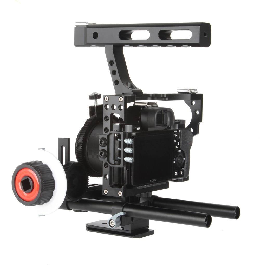 Viltrox 15 mm Varilla Rig DSLR Juego de jaula de video Estabilizador - Cámara y foto - foto 2