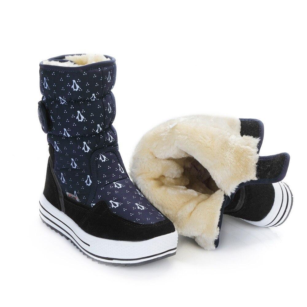 Aufrichtig Winter Damen Moda Outdoor Ski Stiefel Russische Schnee Stiefel Warme Stiefeletten Wasserdichte Große Größe Baumwolle Schuhe Botas De Nieve