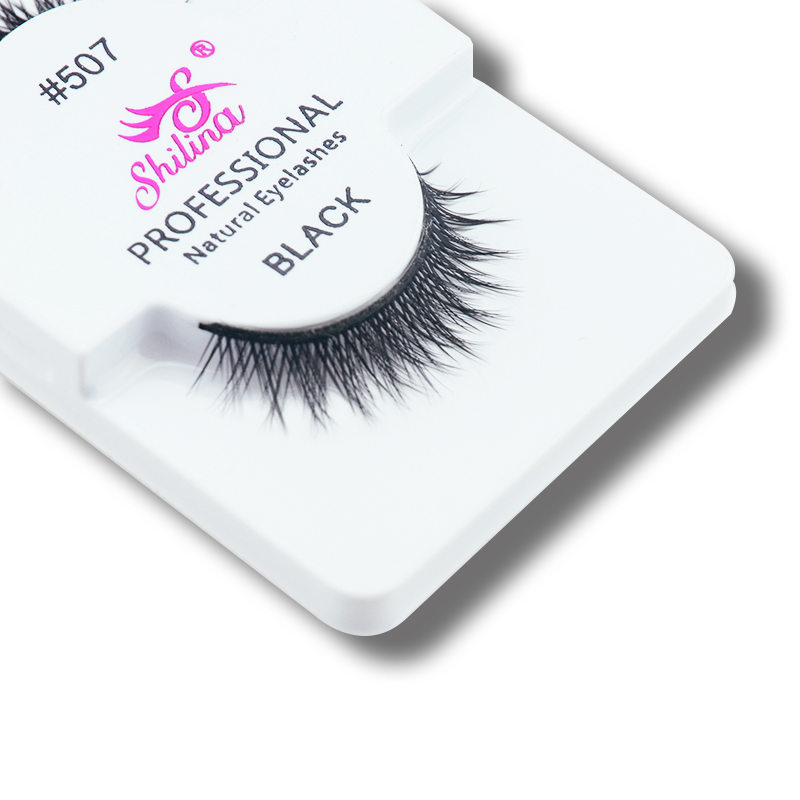 HOLD LIVE 3 Pairs/Pack Natural False Eyelashes Soft Handmade Long Full Strips Fake Lashes Extension Makeup 22 Style Optional 507