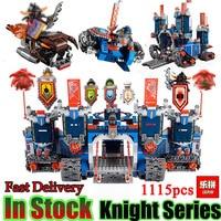 Future Nexo Knight LEPING 14006 1115 Pcs Castle Warrior Battle Building Blocks Set Minis Compatible With