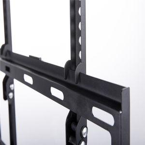 Image 4 - Универсальный Наклонный плазменный ЖК светодиодный настенный кронштейн для телевизора ultra HD, подходит для 26 55 дюймов, максимальная поддержка 40 кг, вес Vesa 400x400 мм