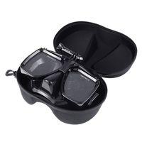 Swim Glasses Diving Snorkeling Goggles Mask Mount with Hard EVA Case for DJI Osmo Action Camera for Gopro Hero7 6 5 4 SJCAM