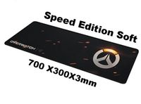 OW Large Size 700 300 3mm Large Overwatch Goliathus Extended SPEED Edition Soft Gaming Mouse Mat
