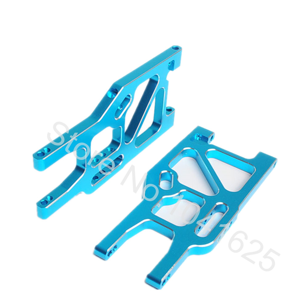 HSP Upgrade Parts 860004N(760004) Rear Lower Suspension Arm for 1/8 Off Road Monster Truck RC Model Car Baja 94762 02023 clutch bell double gears 19t 24t for rc hsp 1 10th 4wd on road off road car truck silver