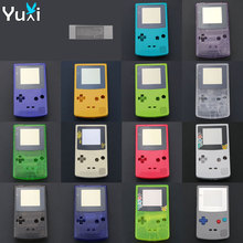 цена на YuXi Full Housing Shell Cover for Nintendo Gameboy Color Replacement For GBC Controller Plastic Case