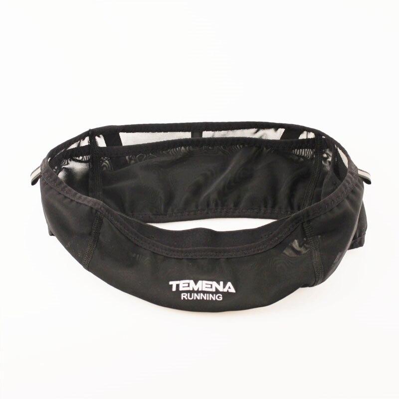 TEMENA Running Waist Bag Sports Fanny Bag Unisex Running Belt Invisible Fanny Waist Pack Mobile Phone Holder Marathon Bag