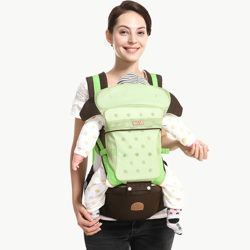 Ergonomic Baby Carrier with Hip Seat Perfect for Alone Nursing, Adjustable Waistband Comfortable & Safe for Infant & Toddlers