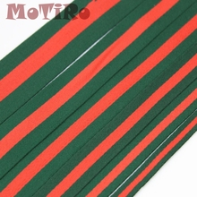 MoTiRo,10 Yards,Width 2.5cm Color Striped Polyester Webbing,Decorative Belt Clothing Handmade Manual DIY Accessories For/ Bag