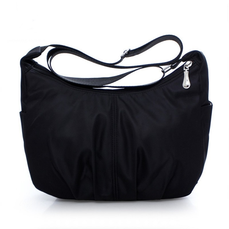 Womens Messenger Bags Nylon Waterproof Travel Casual Clutch half moon Carteira Hobos Shoulder Bag Large Capacity Crossbody Bags