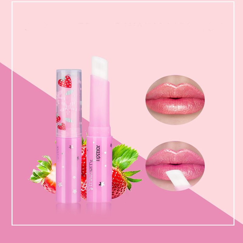 Systematic 10pcs/set 2019 Lip Balm Sweet Strawberry Warm Change Color Magic Makeup Lip Stick Temperature Baby Lip Moisturizer Balm Making Things Convenient For The People Beauty & Health Beauty Essentials