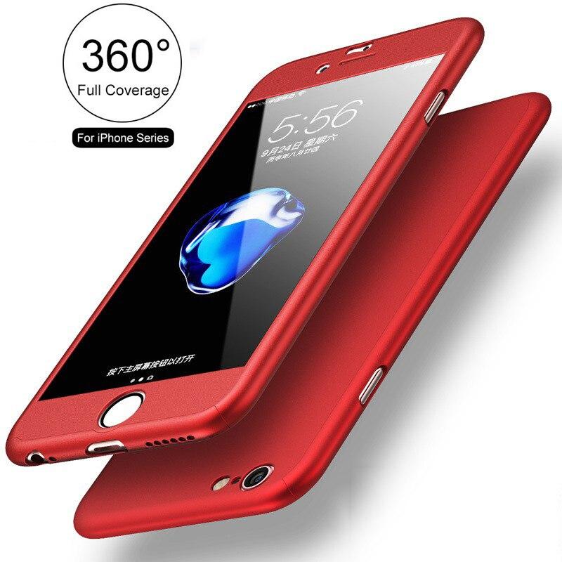 046244bf97b FLOVEME Clásico 360 SÍ Dura Protectora Del Caso de Cuerpo Completo Para  iPhone 5 5S PC
