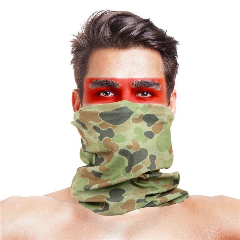 3D листья носовые платки с принтами Для женщин шарф полиэстер микрофибра шеи маска для лица бандана Для мужчин повязка-труба платок - Цвет: 029