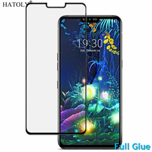 Full Glue Tempered Glass For LG V50 ThinQ 5G Screen Protector for LG