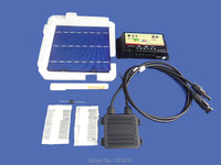 40 pcs POLY 6x6 DIY kit for solar panel, solar cells, flux pen, diode, bus tabbing, junction box, regulator