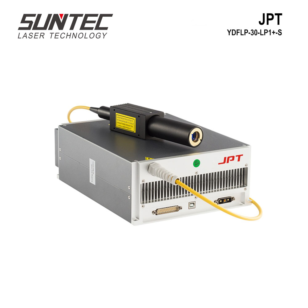 Source Laser à Fiber optique Suntec 30W JPT YDFLP-30-LP1-S générateur Laser à Fiber optique MOPA Source Laser pour Machine de marquage Laser à Fiber optique