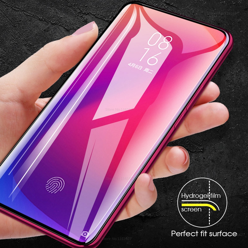 Image 3 - Soft Hydrogel Film Screen Protector For Xiaomi mi 9t pro 9 t mi 9 se mi9 t mi9t Tempered Glass For Xiaomi mi 9x cc9 cc9e A3 MiA3-in Phone Screen Protectors from Cellphones & Telecommunications