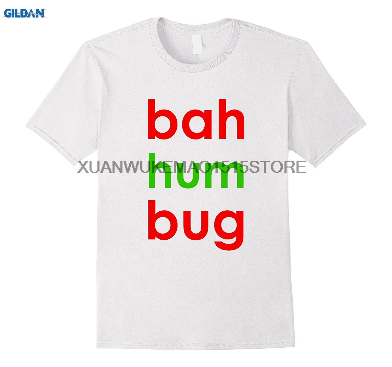 Возьмите 100% хлопок о-образным вырезом Футболка с принтом Бах Вздор рубашка 4 забавные Рождество праздник grouch подарок