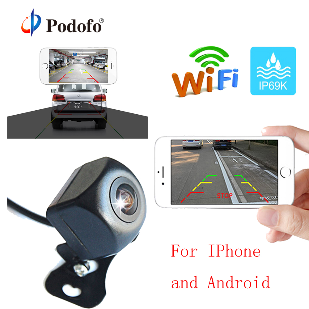 Exterior Independent 170 Degree Car Rear View Cameras Reverse Backup Parking Night Vision Waterproof Parts & Accessories