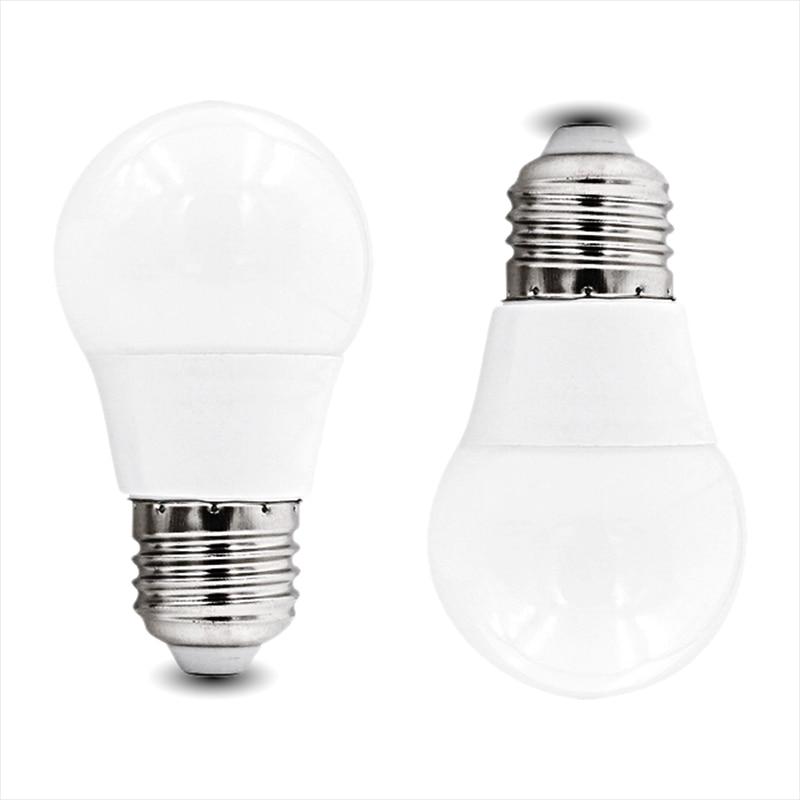 LED lamp E27 LED Bulb AC 220V 18W 15W 12W 9W 5W 3W Lampada Leds Cold White Warm White Hight light Table Light Lamp Home lighting