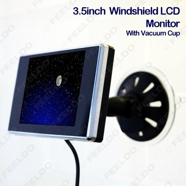 Digital Brisa de 3.5 polegadas TFT LCD Do Reverso Do Carro Monitor para DVD/VCR/VCD # FD-1321