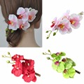 1 pc Girl Womens Flower Orchid Hair Clip Wedding Bridal Party Hair Head Accessories
