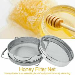 Stainless Steel Double Layer Strainer Honey Filter Strainer Network Screen Mesh Filter Sieve Beekeeping Tools Honey Tools