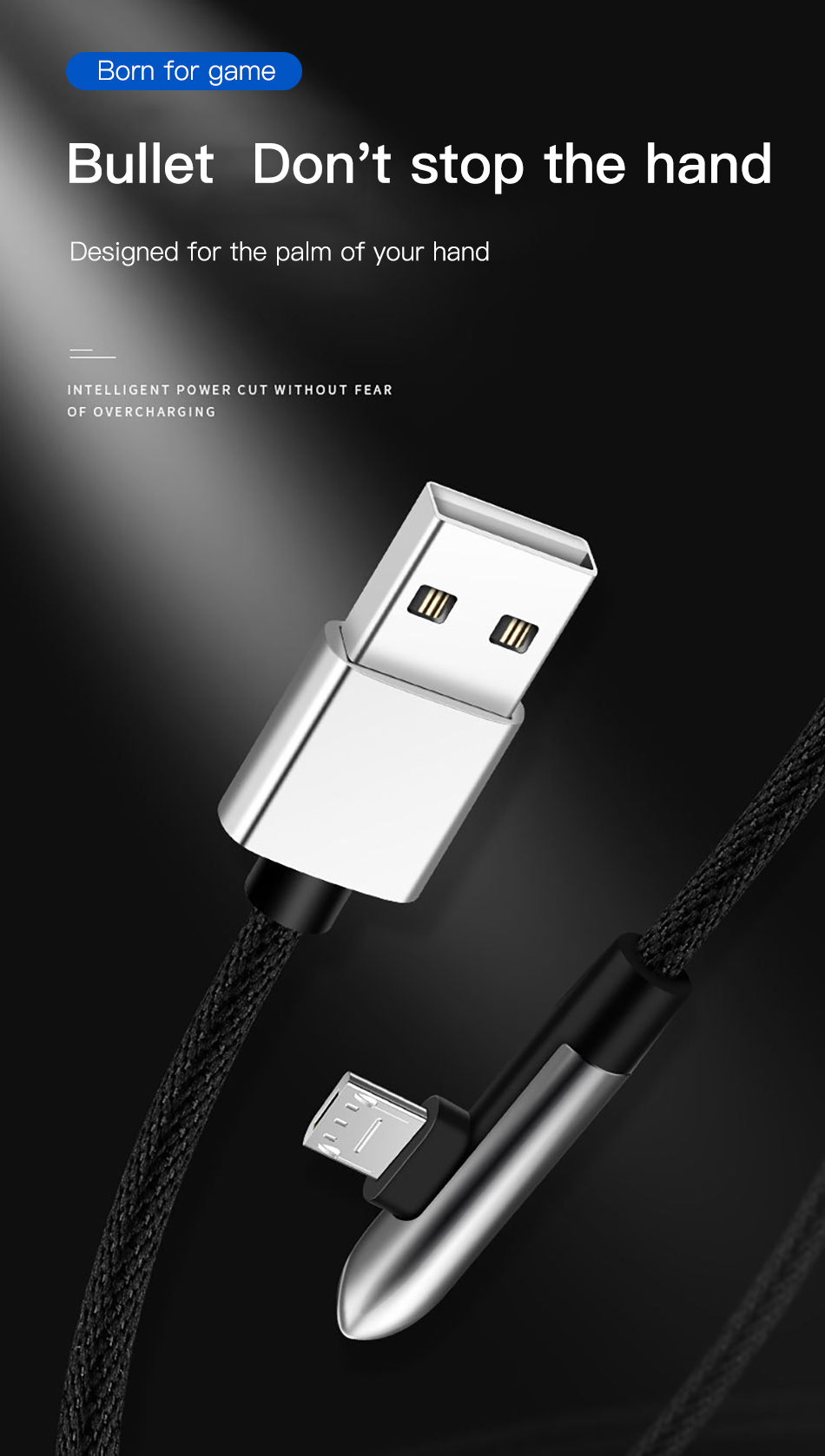 !ACCEZZ Elbow Micro USB Cable Fast Charging For Samsung S7 S6 Note 4 5 Edge Android Phone Data Cable For Xiaomi Redmi 4X Huawei  (1)