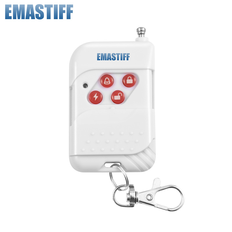 free shipping!1 Pcs/Lot wireless 433 MHZ remote control,remote keypad,keyfob, for some of wireless security burglar alarm system