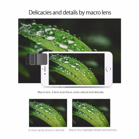 ORICO MPC-A 2 in 1 Mobile Phone Lenses Wide Angle + Macro Super Wide Angle Lenses Digital High Definition for Mobile Phone Karachi