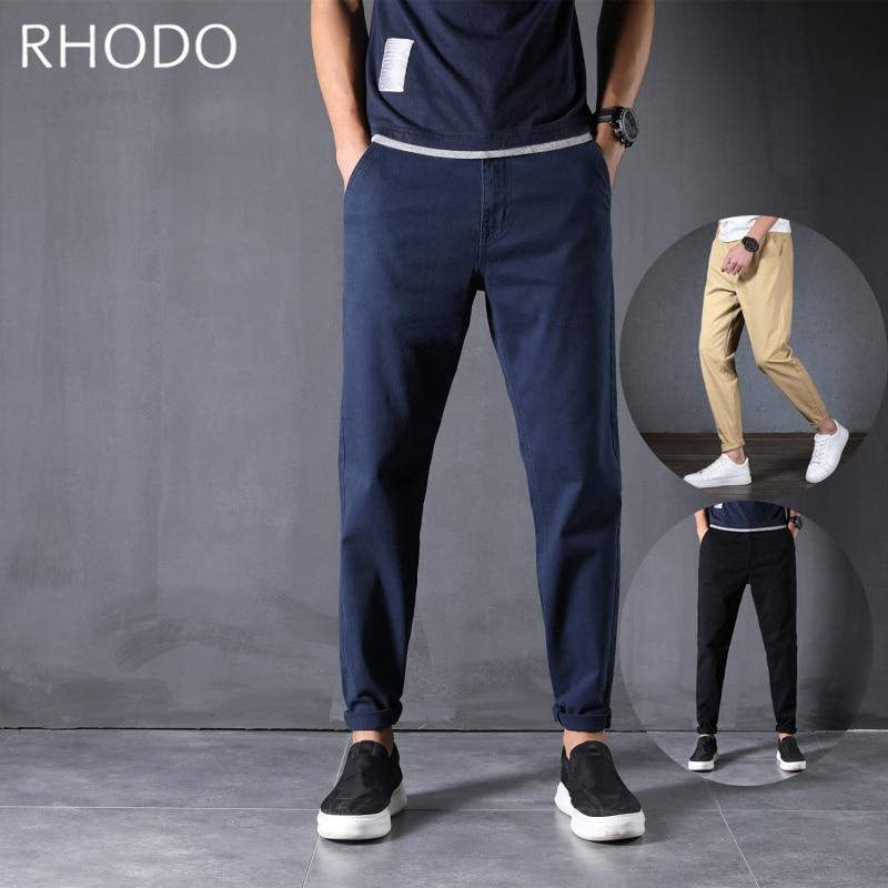 New Men`s Casual Pants Cotton Loose Baggy Harem Stretch Taper Fit Pants Plus Size 28-48