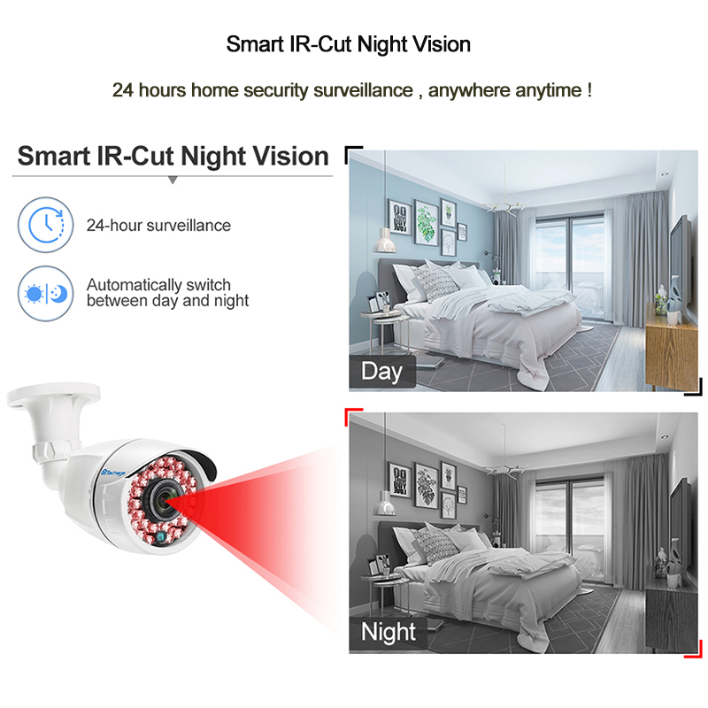 8CH 1080P HDMI DVR Kit CCTV Security System 4PCS 2.0MP Outdoor IR Night Vision AHD Infrared Camera P2P Video Surveillance Set