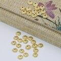 Envío libre del precio al por mayor accesorios de 6mm de calidad superior forma de la flor granos de los espaciadores caps 30 unids tallado joyas B2566