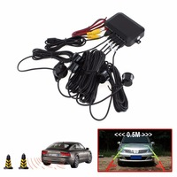 Core CPU Car Video Parking Sensor Reverse Backup Radar Assistance Auto Parking Monitor Digital Display And
