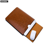 Jacodel PU Laptop Bag for Lenovo Chao 7000 14,7000 14 serise laptop microsoft surface pro 5 HUAWEI honor magicbook Sleeve Case